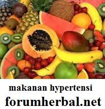makanan penderita hipertensi
